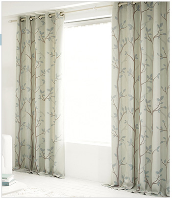 Mint Colored Curtains
